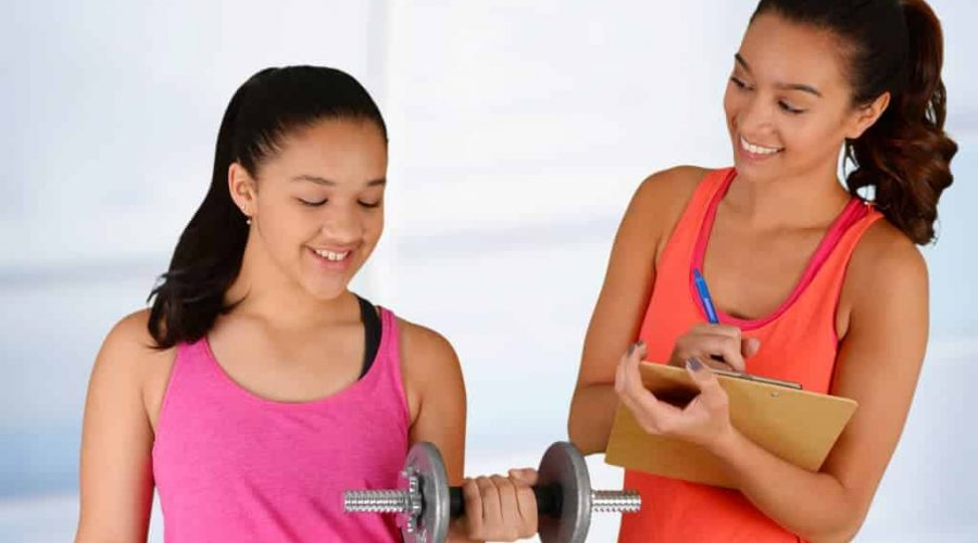 Finding a personal trainer for your teen