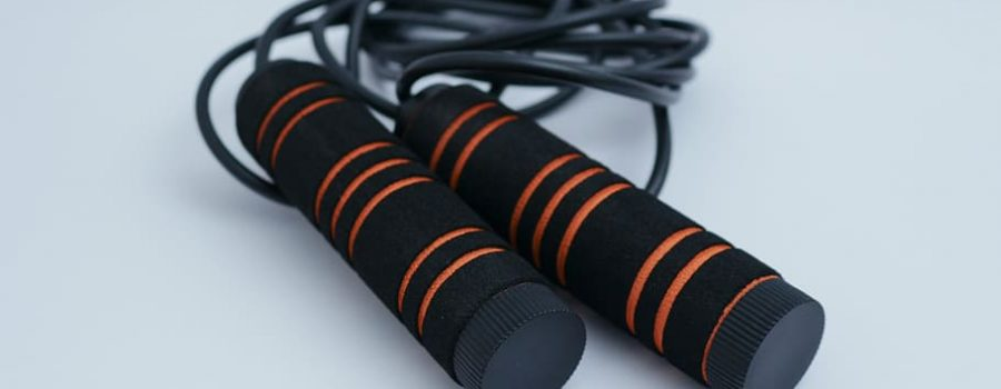 black and orange skipping rope, sport, fitness, workout, gym, HD wallpaper