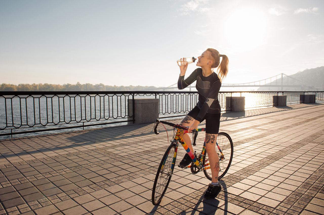 Hydration and Cycling | How and When - Maya Cycle
